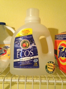 My detergent of choice.  Can be found at Walmart for under $9.