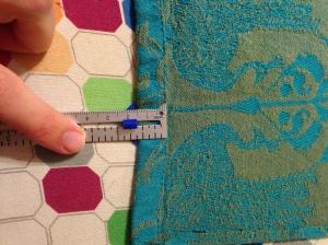Measuring the hem