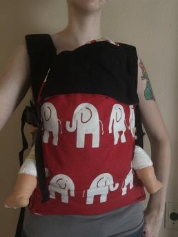ABC Infant size. Red Elle. $98